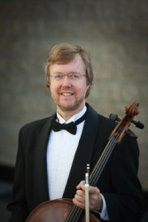 Colin Ryan, cello Photo: Edmonton Symphony Orchestra