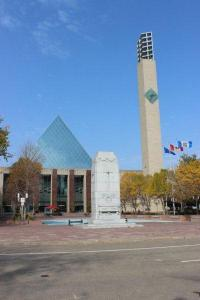 Edmonton City Hall, one of several venues for the Winter 2012 Season