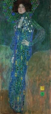 Klimt - Emilie Flöge (1902)