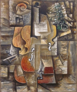 Pablo Picasso | Violin and Grapes (1912) | Museum of Modern Art NYC